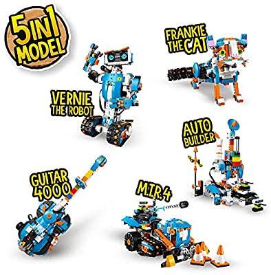 レゴブーストで作れる5種類のレゴ
