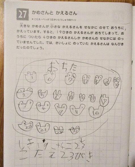 スーパーエリート問題集 絵描き算 テキスト