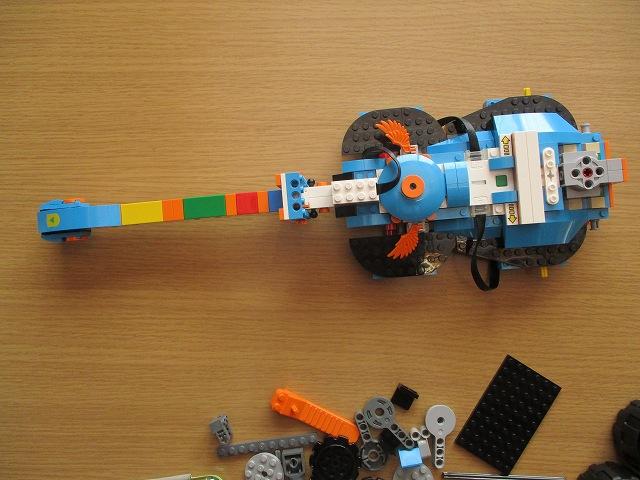 レゴブーストのギター第一段階完成