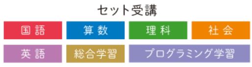 Z会小学3~6年生タブレットコースの教科