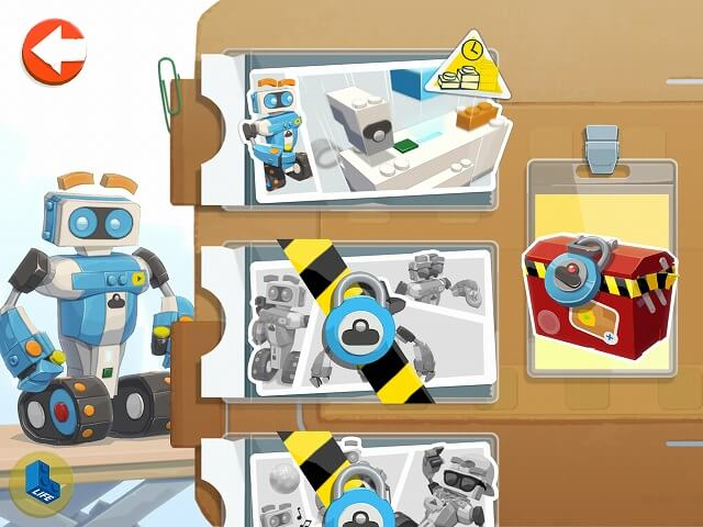 レゴブーストの作り方 アプリ画面